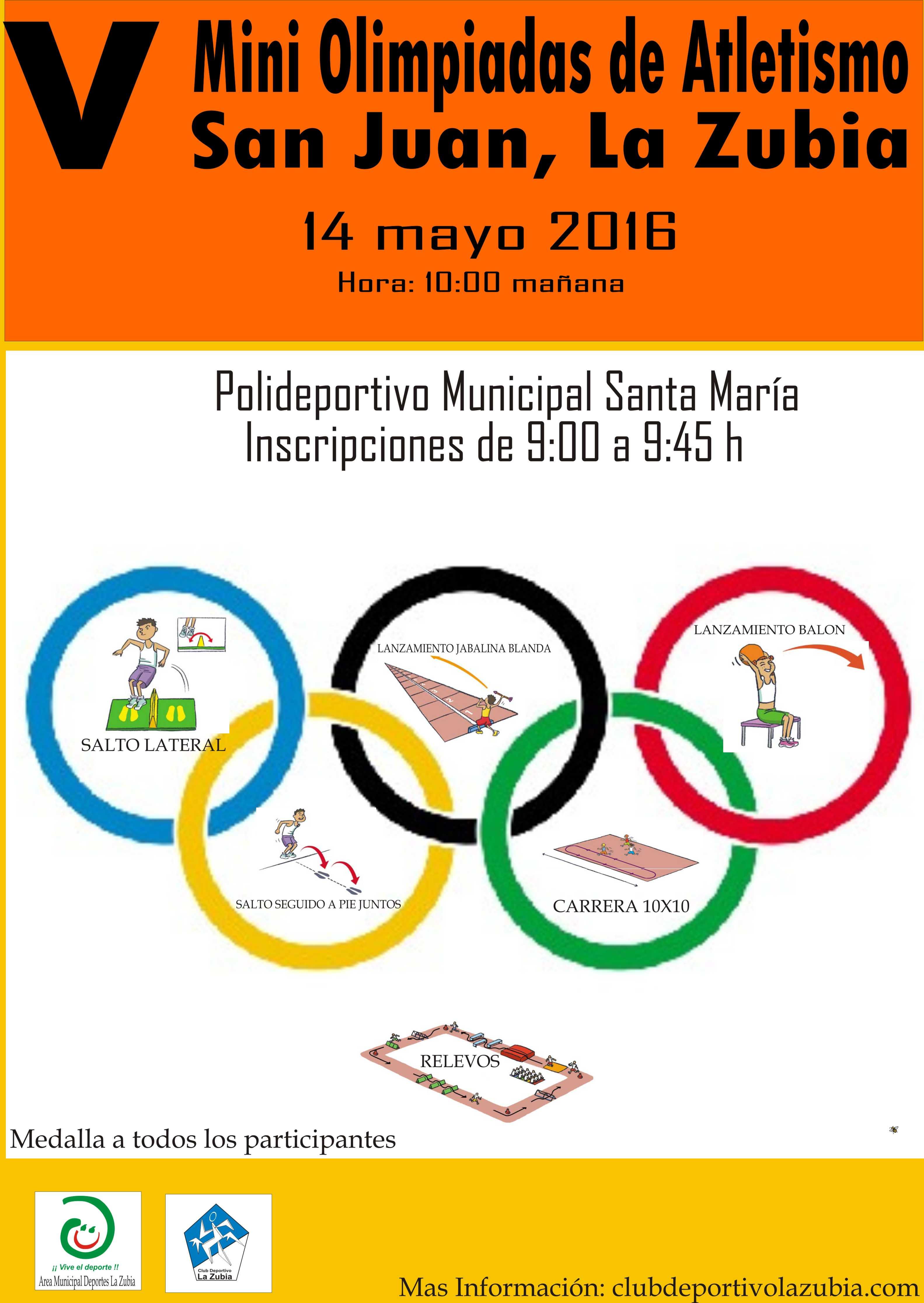 Mini Olimpidadas San Juan 2016