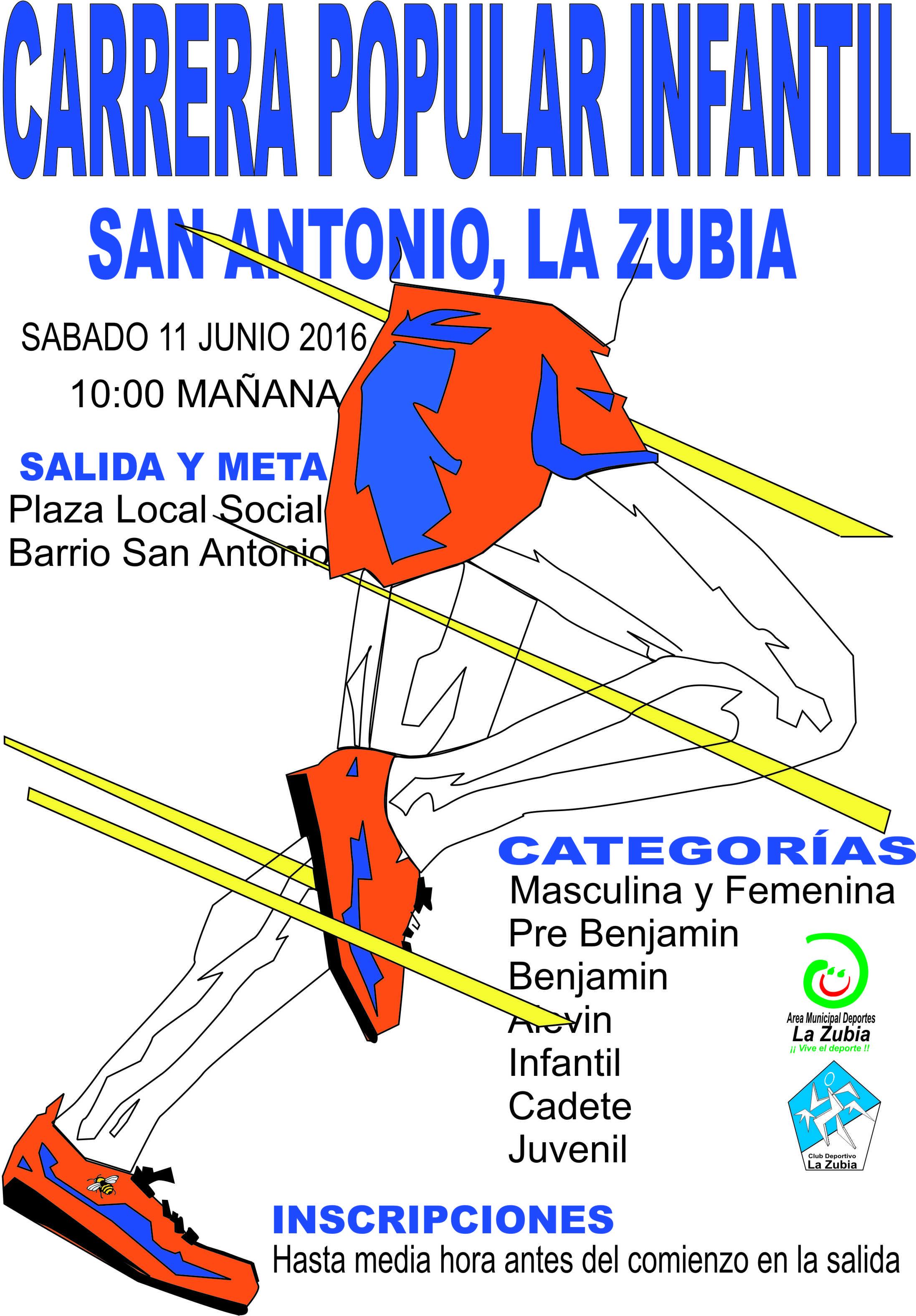 Carrera San Antonio 2016
