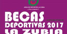 Becas Deportivas La Zubia 2017.
