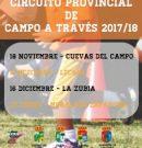 Circuito Provincial Campo a Través 2017/18, Granada