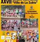 """XXVII Cross Navidad """"Villa de La Zubia"""" y XXII Circuito Provincial de Campo a Través."""