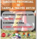 Circuito Provincial de Campo a Través, Granada.