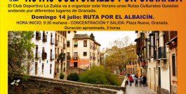 Rutas Culturales Guiadas por Granada.