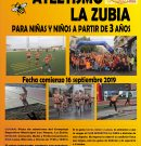 Escuela de Atletismo de La Zubia, temporada 2019-2020.